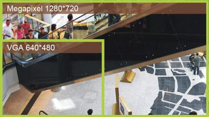 ACTi D51 Mpix - Kamery kopułkowe Mpix