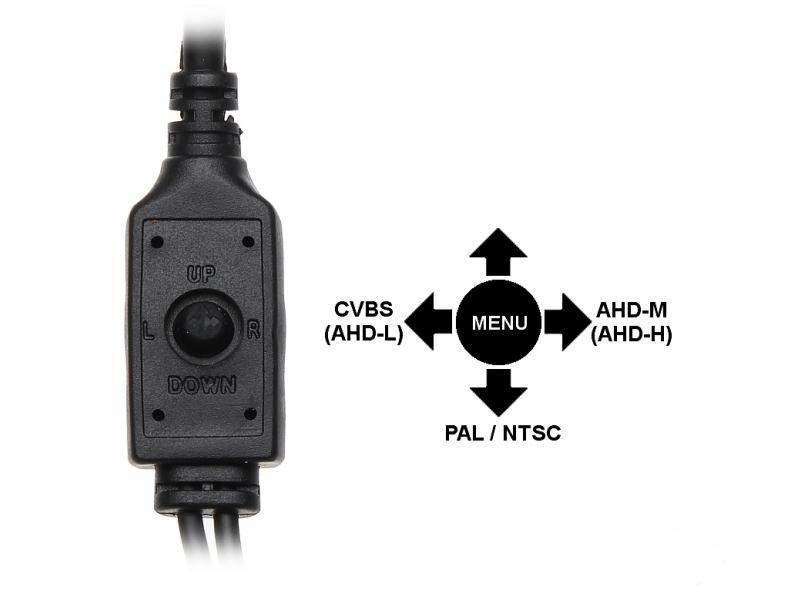EL-AHD C102 - Kamery kopułkowe Mpix