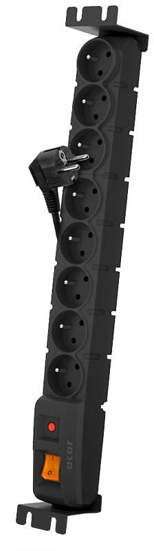 Axon Acar S8 FA RACK: kabel 5 m - Zabezpieczenia przepięciowe