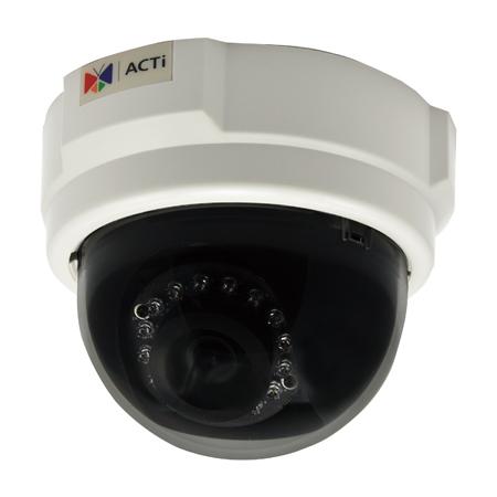 ACTi E53 - Kamery kopułkowe Mpix