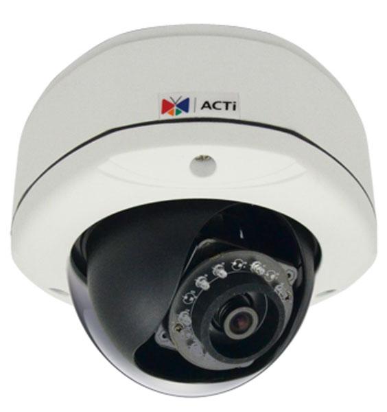 ACTi E72A - Kamery kopułkowe Mpix